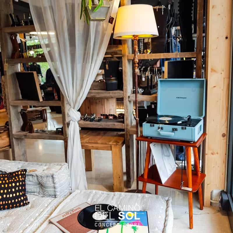 Giradischi Crosley Azzurro | EL CAMINO DEL SOL