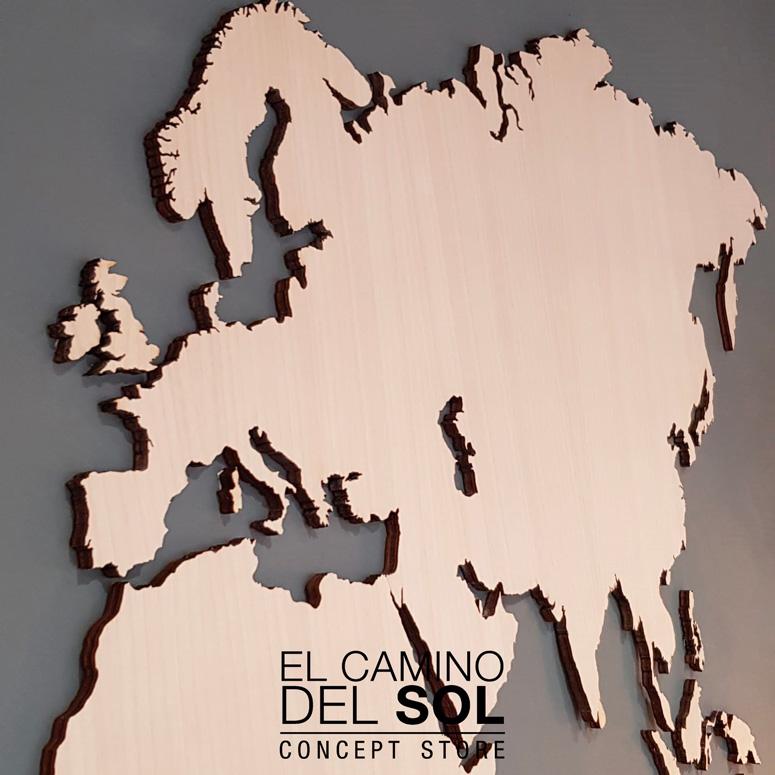 Planisfero in legno | EL CAMINO DEL SOL
