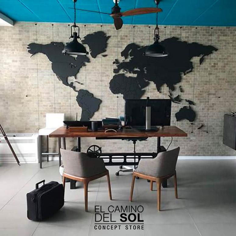 Planisfero in legno personalizzabile| EL CAMINO DEL SOL