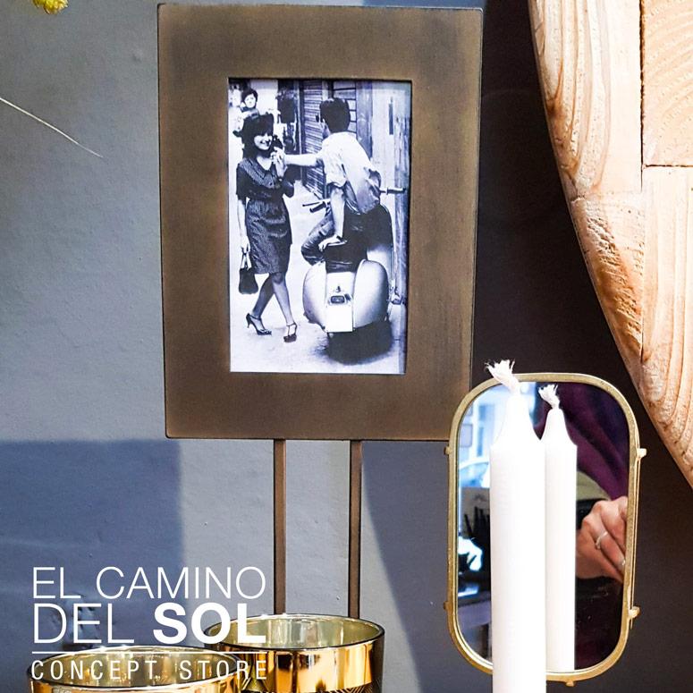 Portafoto in metallo | EL CAMINO DEL SOL
