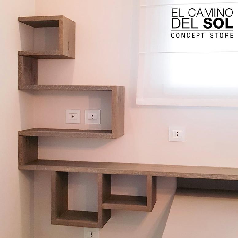 Scaffalatura in legno personalizzata | EL CAMINO DEL SOL