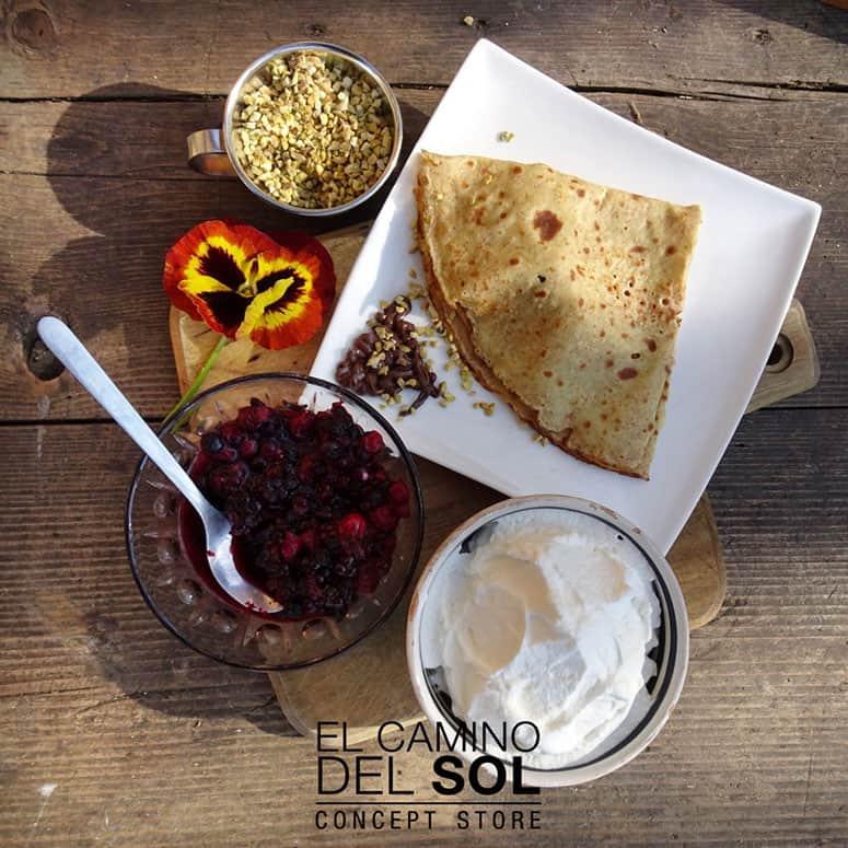 Crêpes e pancake per una colazione vegetariana   EL CAMINO DEL SOL