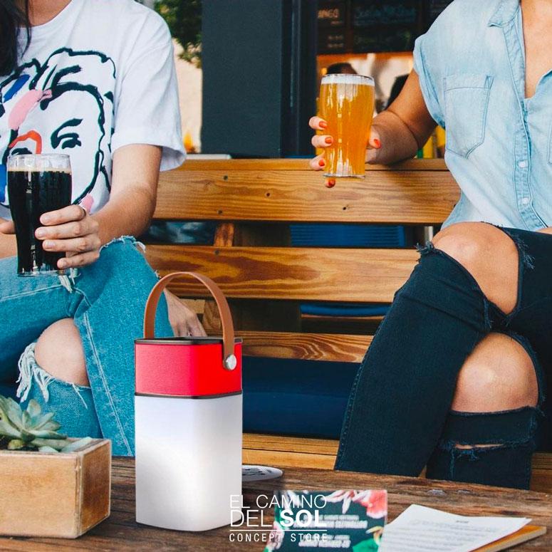 Speaker bluetooth con lampada   EL CAMINO DEL SOL