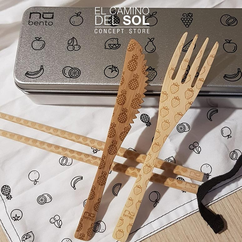 Posate in Bamboo Bento | EL CAMINO DEL SOL
