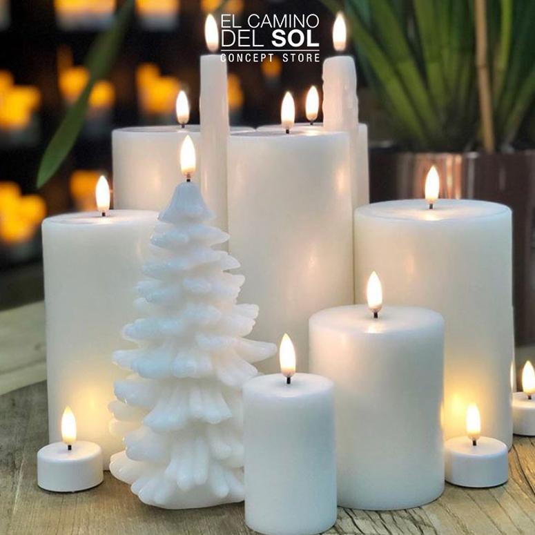 Uyuni candle: le più belle Candele a Led | EL CAMINO DEL SOL