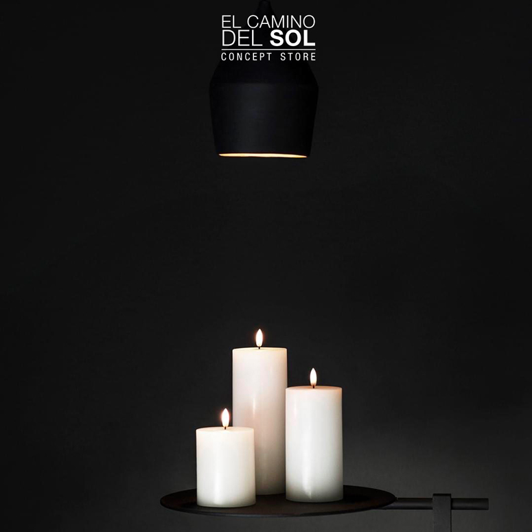 Uyuni Candle a led dal design unico | EL CAMINO DEL SOL