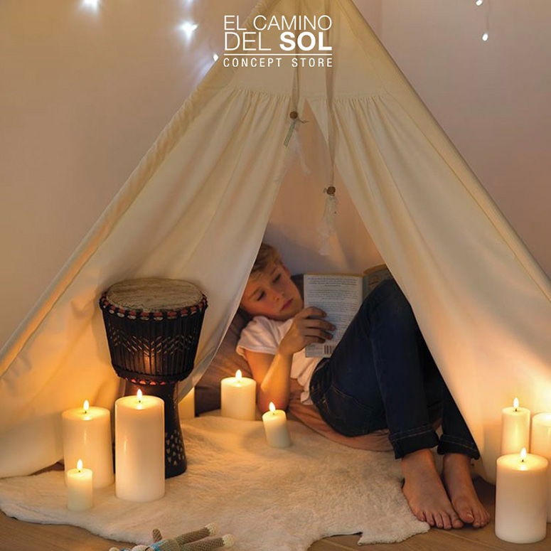 Qual è il vantaggio di una candela a led? | EL CAMINO DEL SOL