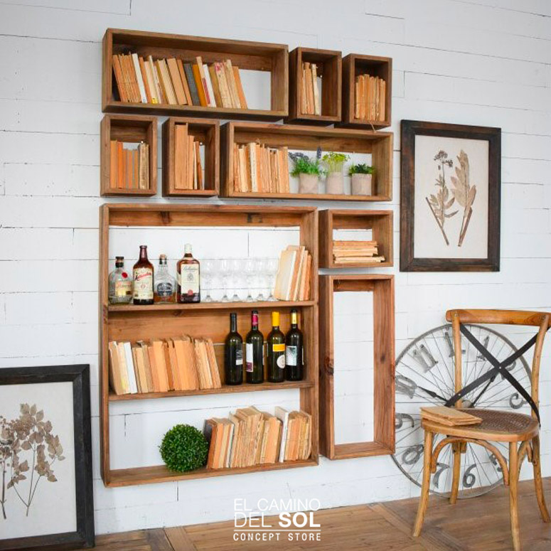 Arredare le pareti di casa con mensole e scaffali | EL CAMINO DEL SOL