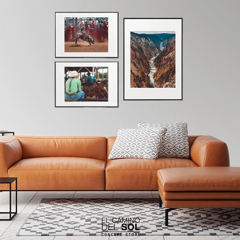 Arredare le pareti di casa con fotografie di paesaggi | EL CAMINO DEL SOL