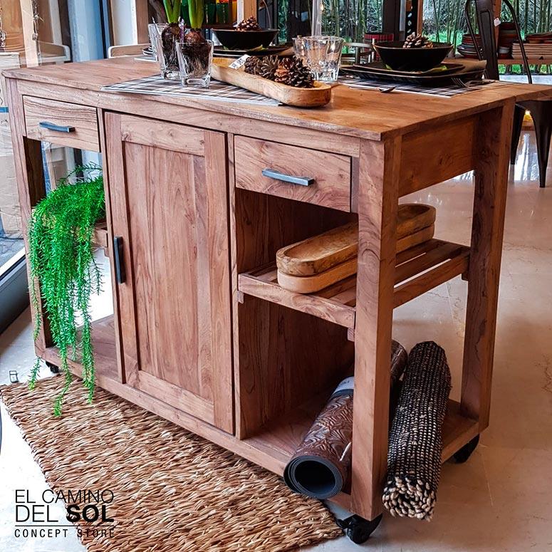 Credenza legno massello acacia | EL CAMINO DEL SOL